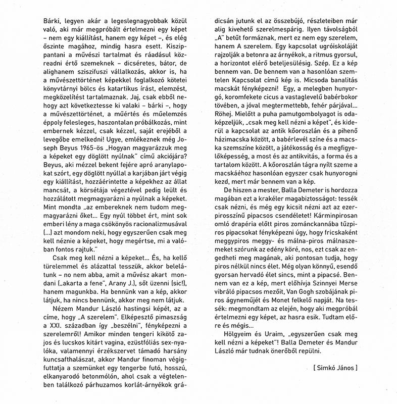 Simkó János katalógus szöveg