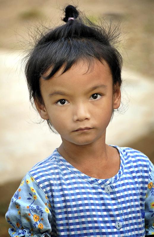 Khmer árva lány Kambodzsában ( 2008)